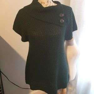 S/M chunky knit short sleeve Sweater